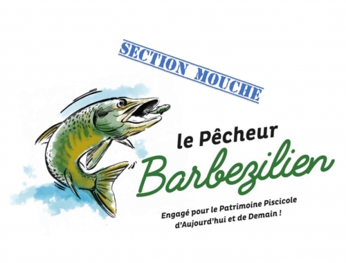 Section Mouche de l'AAPPMA le pêcheur Barbezilien