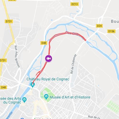 Parcours de Cognac
