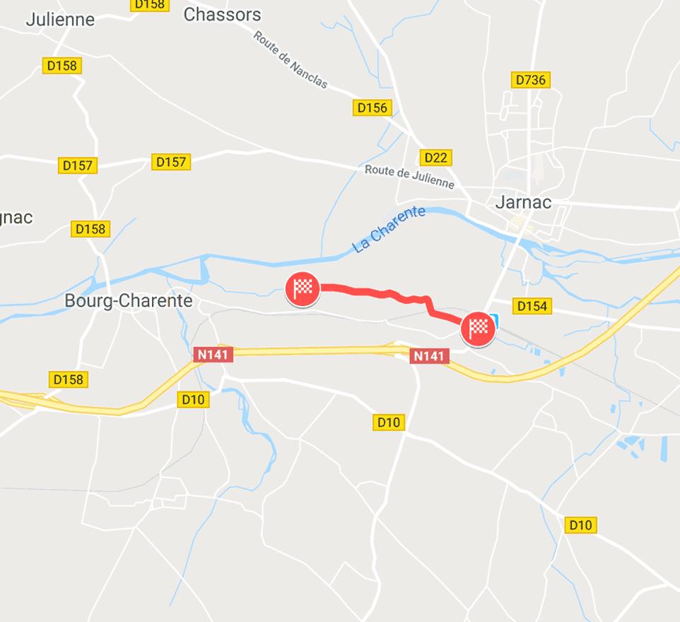 Jarnac (Bras de Foussant)