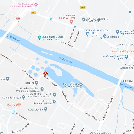 Plan d'eau de Frégeneuil