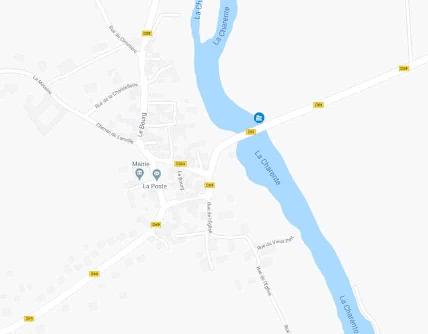 Ambérac / Pont de la D69