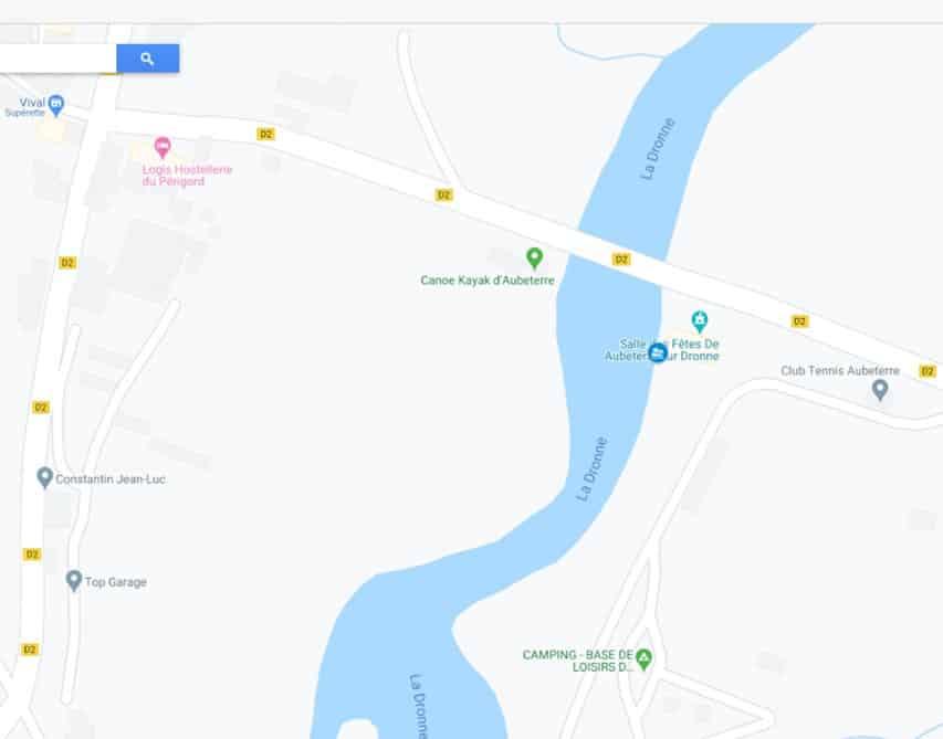 Aubeterre-sur-dronne / Pont de la D20